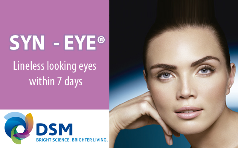 SYN®-EYE Lineless looking eyes within 7 days